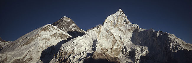 Everest nuptse 1 sunset  Panorama P 0650