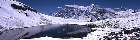 Ice Lake Panorama 1 zweiter See -2 P 450