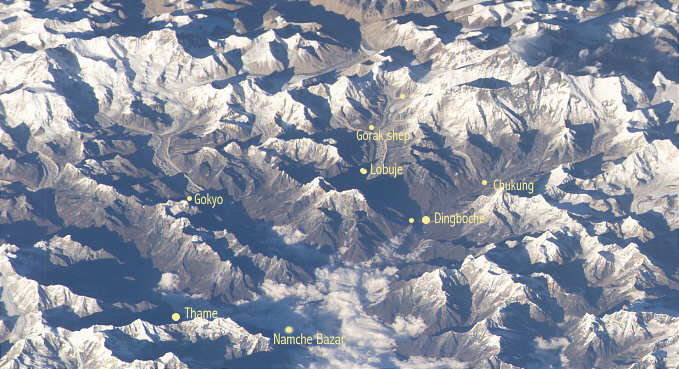 everest khumbu space picture
