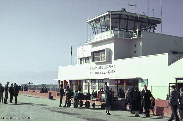 Wolf Donner NEP 057 Tribhuvan-Airport tower Kathmandu 1966x0600