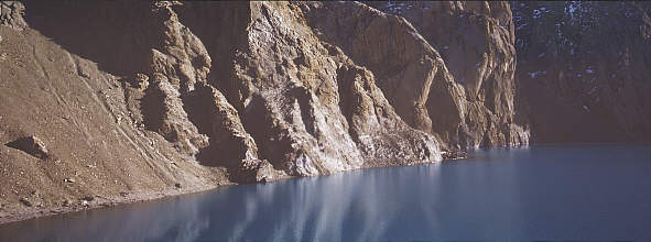 Tilicho lake Cliffs