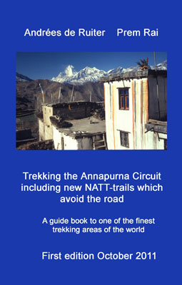 Trekking the Annapurna cover front y400