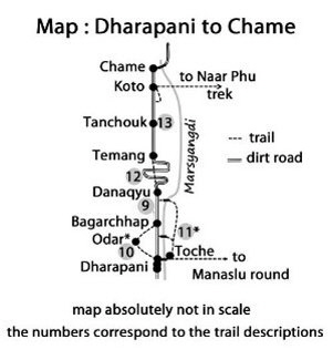 Pic 5 Map Dharapani to Chame small x300