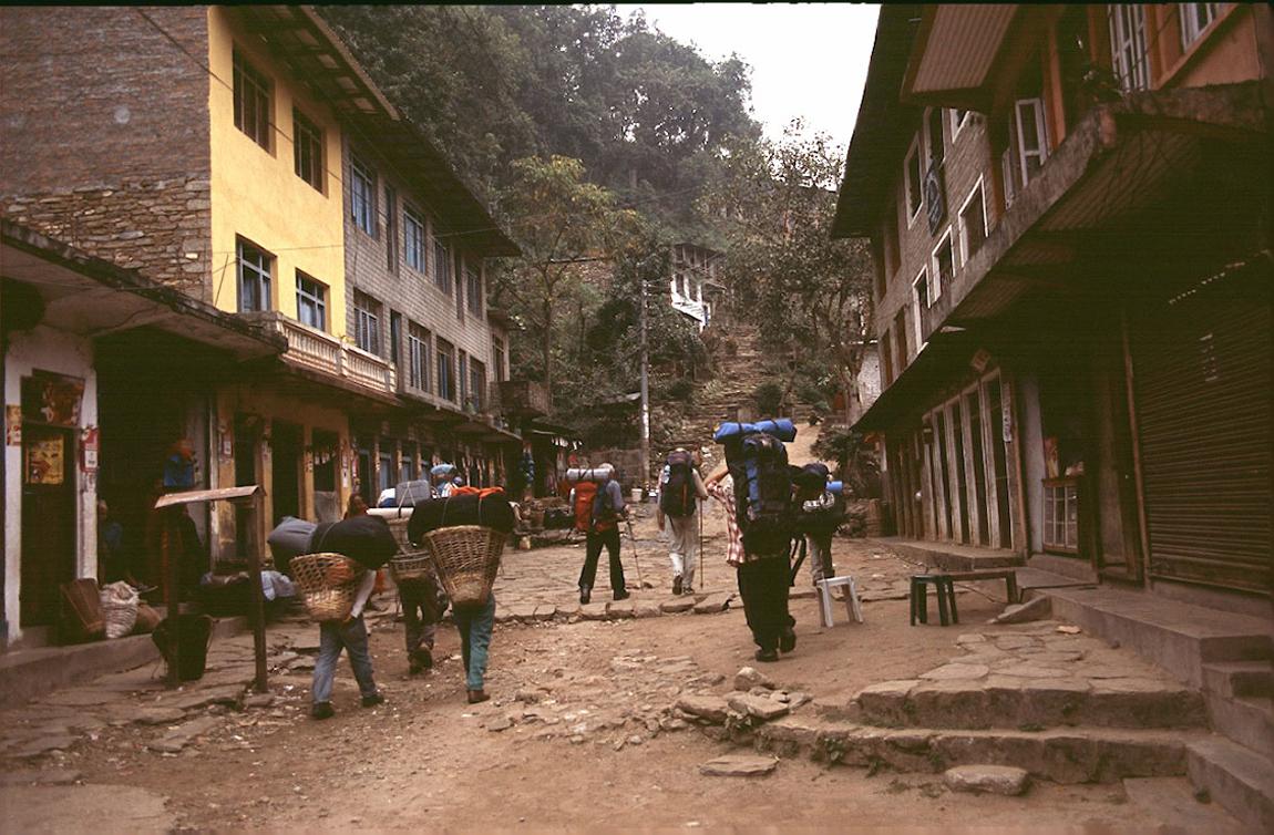 Me Arughat Bazar To Armala Round Manaslu